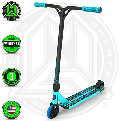 Madd Gear MGP Action Sports Kick KAOS Scooter (Teal/Blue 2019) (Best Scooter For The Money 2019)
