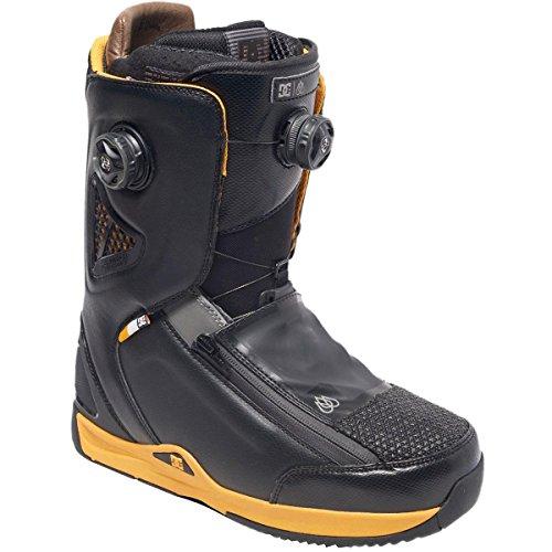 DC Men's Travis Rice Snowboard Boot, Black, 10D
