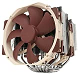Noctua NH-D15 - Premium CPU Cooler with 2x NF-A15 PWM 140mm Fans (Brown)