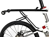 Rear Rack with wheels for Pacific Cycles IF REACH T20 R20 Mini Velo Folding Bikes