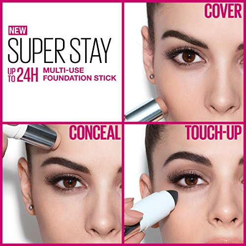 Maybelline Super Stay Foundation Stick For Normal to Oily Skin, Classic Ivory, 0.25 oz. by Maybelline New York (Image #5)