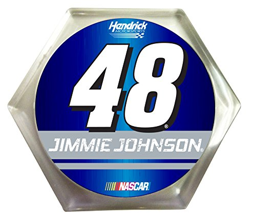 NASCAR #48 Jimmie Johnson Coaster Set-Jimmie Johnson Drink Coasters 2pk-NEW for 2016! - Jimmie Johnson Set