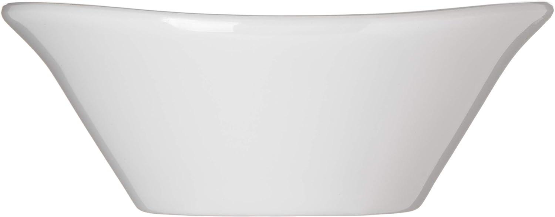 Carlisle 5300902 Stadia Melamine Platter 13 x 7 White