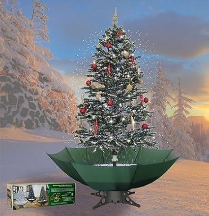 Albero Di Natale Con Neve Verde 200 Cm Amazonit Casa E Cucina