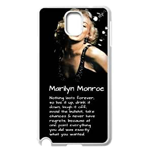 Marilyn Monroe Unique Design Cover Case for Samsung Galaxy Note 3 N9000,custom case cover ygtg-344177 Kimberly Kurzendoerfer