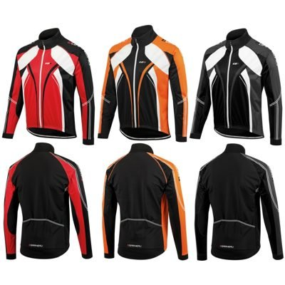 Louis Garneau Glaze 2 Men's Jacket Black/White, L - Men's ()