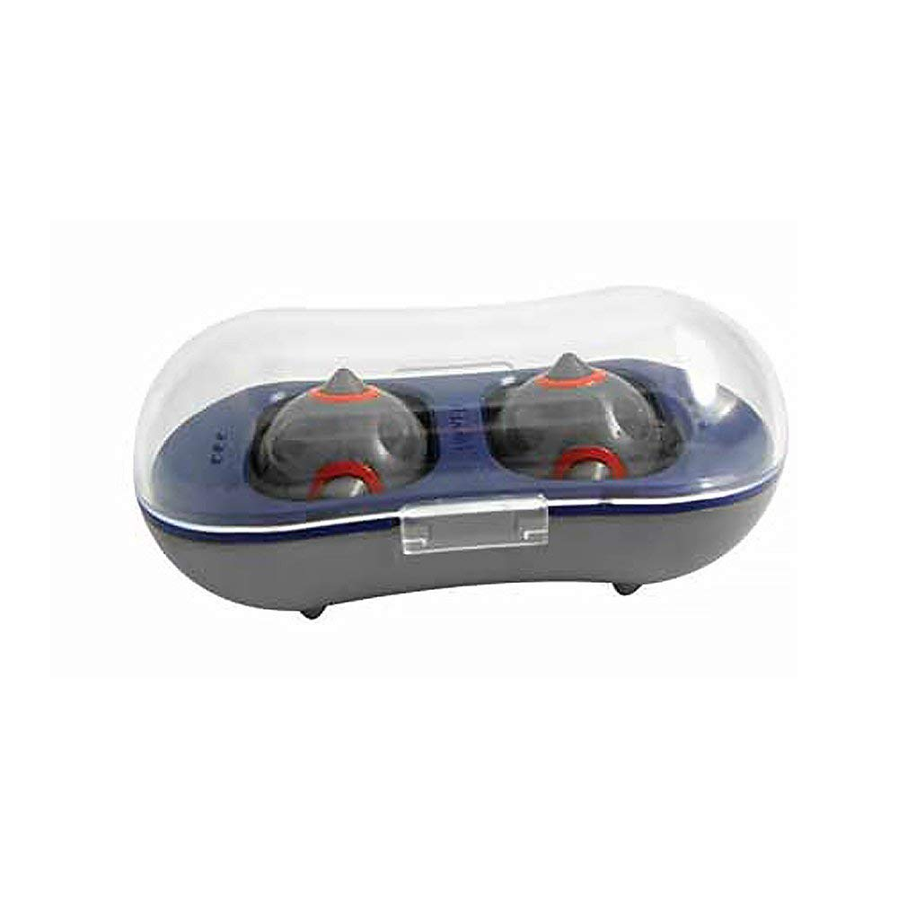 Nikken 1 MagDuo Massage Balls - 13201, Magnetic Therapy, Deep Tissue Rehab Reflexology and Acupressure - Kenko Compact Portable Therapist - Works Perfectly for Stress, Fatigue and Soreness Relief by Nikken