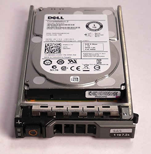 9W5WV ST91000640SS DELL 1TB 7.2K SAS 2.5 6Gbps HDD W/G176J TRAY/CADDIE (Dell Scsi)