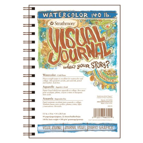 Strathmore 400 Series Visual Watercolor Journal, 140 LB 5.5