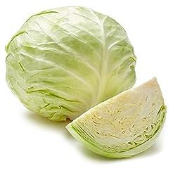 Organic Green Cabbage, One Head