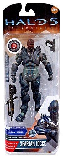 Mcfarlane Halo 5 Guardians Series 1 Spartan Locke Helmetless Exclusive]()