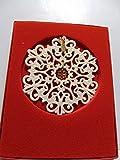 Lenox 1999 Snow Fantasies Snowflake Porcelain Christmas Ornament