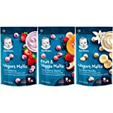 Gerber Up Age Yogurt Melts & Fruit & Veggie Melts