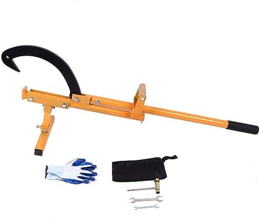 Sugoyi Rundholzschlepper und Cant Hook 3 in 1 Funktion Multifunktionales Forstwerkzeug f/ür den professionellen und privaten Gebrauch