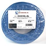 Security / Burglar Alarm Cable 22/4 Stranded Blue 500ft