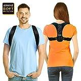 Posture Corrector, Perfect Posture Brace Effective Comfortable Upper Back Support Brace, Adjustable Clavicle Brace for Spinal Shoulder Neck Upper Back Pain Relief for Men and Women(37'-44.5'unisex)