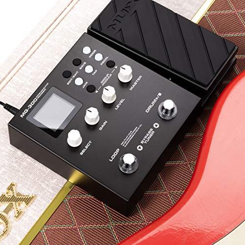 NUX-MG-300-Multi-Effects-Pedal-TSAC-HD-Pre-EffectsAmp-Modeling-algorithmCORE-IMAGE-Post-EffectsIR56-drum-beats60-seconds-Phrase-Loop