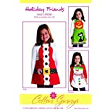 Cotton Ginnys Holiday Friends Child's Aprons by Cotton Ginny