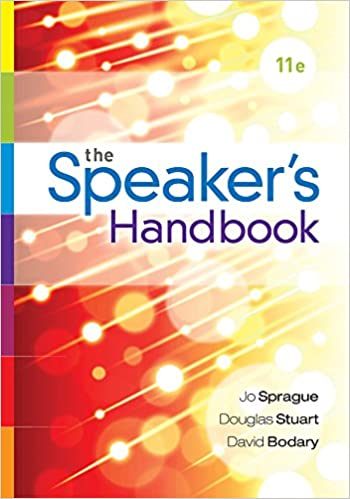 The speakers handbook spiral bound version jo sprague douglas the speakers handbook spiral bound version jo sprague douglas stuart david bodary 9781285444611 amazon books fandeluxe Images