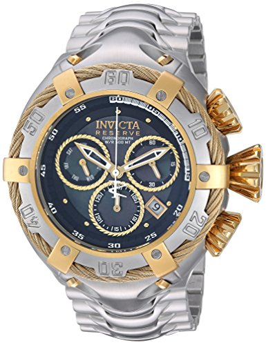 Invicta Men s Bolt Quartz Watch with Stainless-Steel Strap, Silver, 29 Model 21341