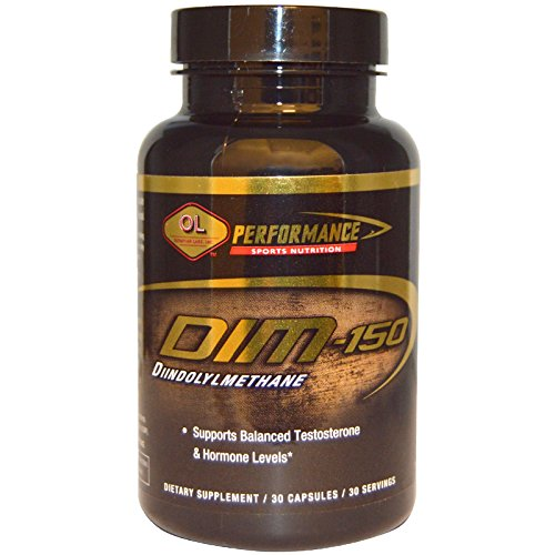 Olympian Labs Inc., Performance Sports Nutrition, DIM, 150 mg, 30 Capsules - - Mg 30 150 Capsules