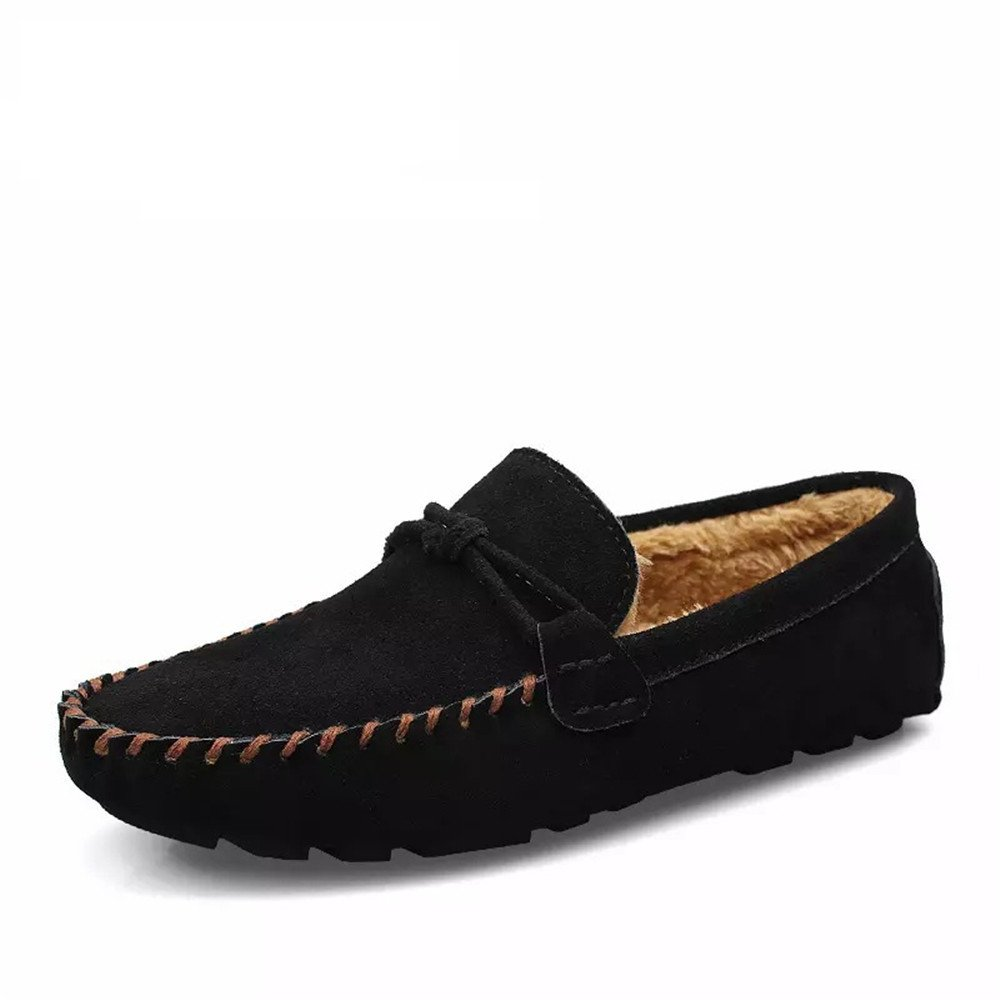 Männer - mode casual - schuhe, british style erbsen schuhe, handgefertigte schuhe wohl lässig,schwarz,39