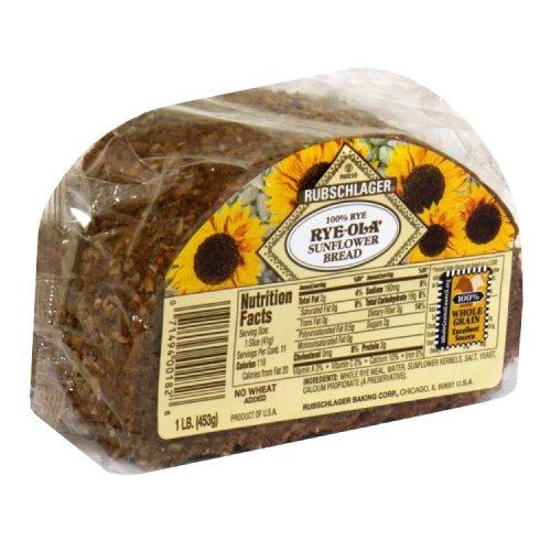 - Rubschlager Bread, Sunflower, Rye, 16-Ounce (Pack of 6)