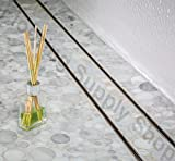 Royal Linear Shower Drain Stainless Steel Tile Insert By Serene Steam 47 by Royal Drains By Serene Steam