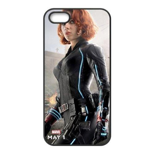 Avengers Age Of Ultron coque iPhone 4 4S Housse téléphone Noir de couverture de cas coque EBDOBCKCO12018