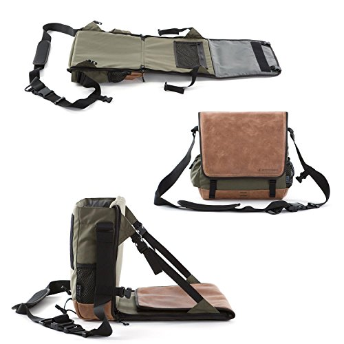 EVENaBAG | Fishing bag with fishing chair, foldable mat and toiletry bag - perfect fishing gear