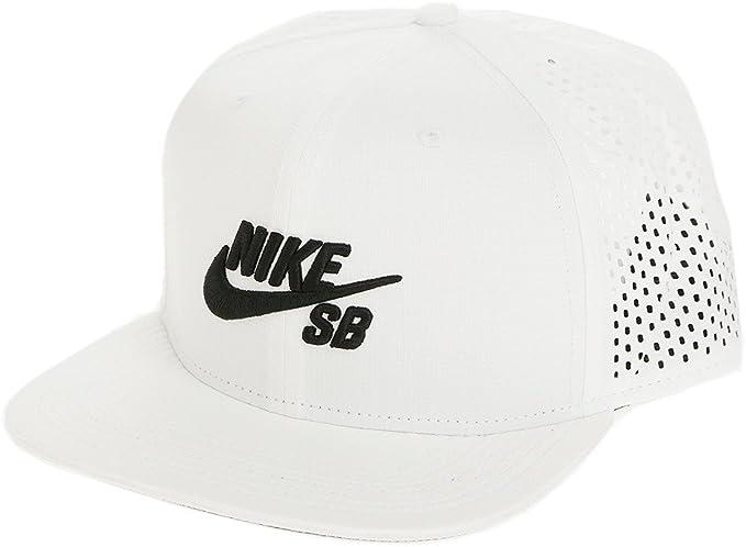 Nike U Nk Arobill Pro Gorra de Tenis, Unisex Adulto, (Blanco/Negro ...