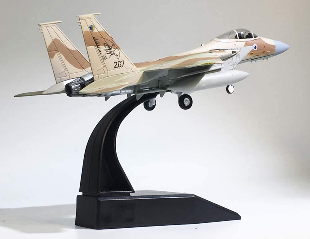 いいスタイル Isreal F-15 ファルコン 飛行機モデル 1/100 ダイカスト 航空機 F-15 飛行機モデル 航空機 B07KDC3QPG, 横田町:0929860e --- wap.milksoft.com.br