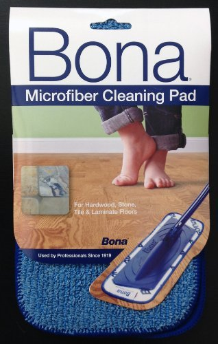 Bona 15 Pack Microfiber Cleaning Pad by Bona
