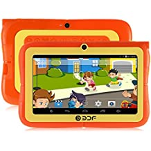 Generic BDF E86 7 Inch Quad Core Kids Tablet PC with Stand and Protective Case (Bluetooth, Wi-Fi, Dual Camera)