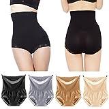 Pilot-trade 4-pack High Waist Underwear 20s Dress's Body Shaper Tummy Control slimming panties XL