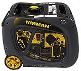Firman W03081 3300/3000 Watt Recoil Start Gas Portable Generator cETL and CARB Certified (Renewed)