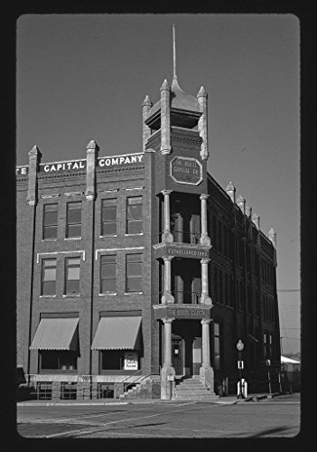 - Vintography 8 x 12 BW Photo of: The State Capitol Building 1902 2nd & Harrison, Guthrie, Oklahoma 1996 Roadside America Margolies, John, 71m