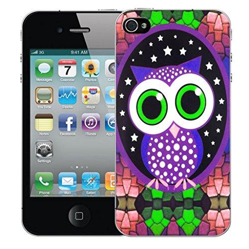 Mobile Case Mate iphone 5 Dur Coque couverture case cover Pare-chocs - mozaic owl Motif