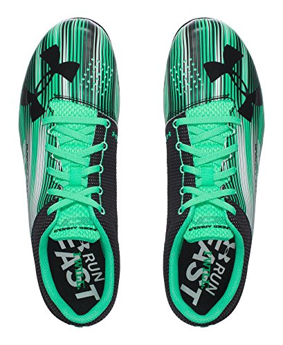 Under Armour Mens Calcio Sprint Spike Vapore Verde / Nero / Nero