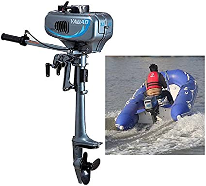 with Water Cooling 3.5HP Boat Engine 2-Stroke Outboard Motor CDI system 2.5kw