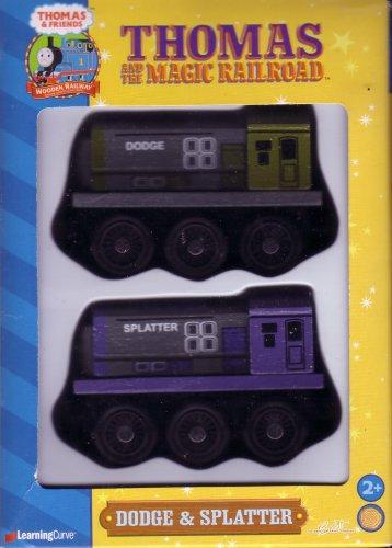 Amazoncom Thomas And The Magic Railroad Dodge And Splatter Toys