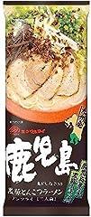 Japanese Instant Dried Noodle Kagoshima Tonkotsu (Port bone broth sauce) taste for 2 serving (92.5g x2)
