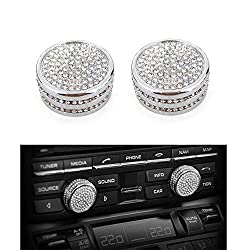 Volume Knob Diamond Cover for Porsche