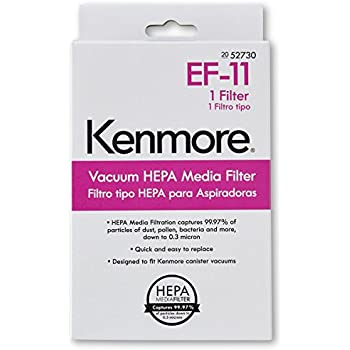 Kenmore 52730 HEPA Media Vacuum Exhaust Filter, EF-11