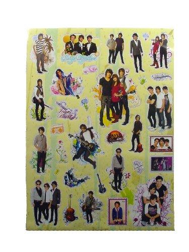 - Jonas Brothers Magic Stickers Set