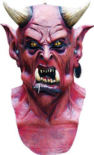 Horned Devil Halloween Horror Costumes Mask - Halloween Maskes