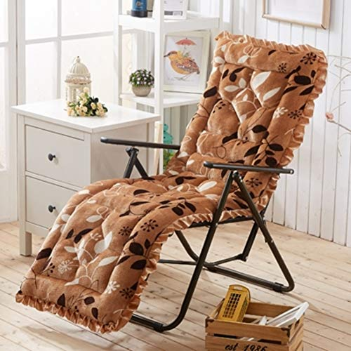 Plush Rocking Chair Cushion,Swing Bench Cushion,Indoor Outdoor Rattan Chair Seat Pad for Balcony Chair Pad Lounge Chair-d2 48x148cm(19x58inch) ()