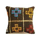Kilim Pillow 16x16 Decorative Pillow / Throw Pillow / Pillow Cover / Home Decor / Pillows / Decorative Pillows / Throw Pillows / Rustic / Rustic Decor / Couch Pillow / Designer Pillow / Cushion r404