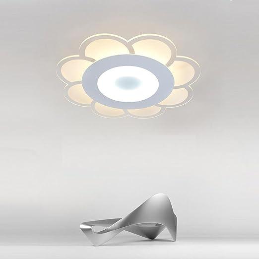 LED Acrílico Lámpara de techo Moderno Ultra delgado Redondo ...