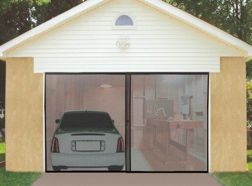 IdeaWorks Instant Garage Screen (Two Car Garage Doors)
